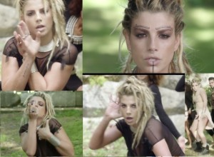 emma marrone nuovo video il paradiso non esiste look tribale