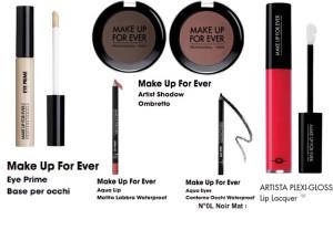 make up for ever prodotti trucco aliosha mussi detto fatto