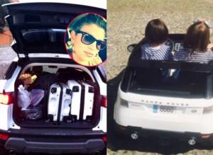 santiago ha la macchina uguale a quella di emma marrone  un regalo di stefano de martino per il compleanno del figlio