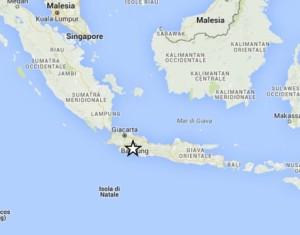terremoto in indonesia in tempo reale oggi