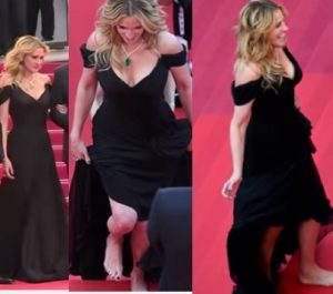 julia roberts scalza sul red carpet di cannes video youtube