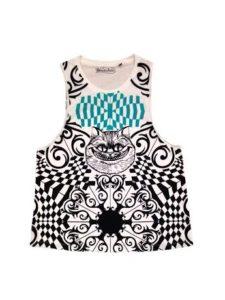 zuiki film disney maglietta alice allo specchio