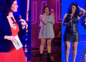 i peggiori look dei wind music awards 2016 giusy ferreri vanessa incontrada incinta e dua lipe