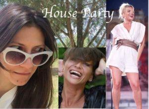 elisa toffoli emma marrone alessandra amoroso insieme per house party nuovo programma di maria de filippi condotto da sabrina ferilli
