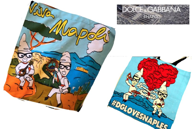 Dolce e Gabbana: la borsa dedicata a Napoli con il Vesuvio ...