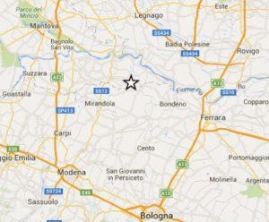 terremoto oggi a mantova in tempo reale mirandola ultime scosse