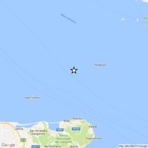 terremoto oggi in puglia in tempo reale ingv