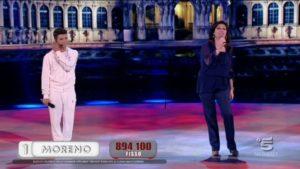 daniela dessi duetta con moreno adi amici video