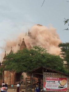 terremoto in birmania prime immagini da twitter del forte sisma