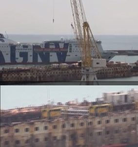 costa concordia video demolizione