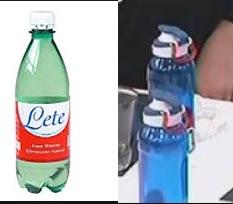 Composizione acqua lete