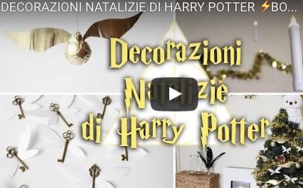Decorazioni natalizie di harry potter fai da te video for Youtube decorazioni natalizie