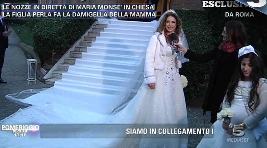 Matrimonio In Chiesa Vale Anche Civilmente : Le foto del matrimonio di maria monsè e salvatore paravia